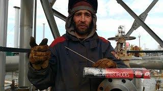 Сварка 108/8 трубы + фланец