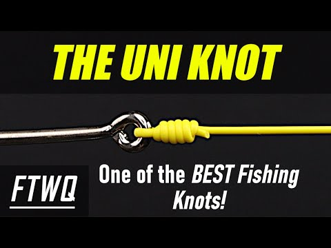 Fishing Knots: Uni Knot - One Of The BEST Fishing Knots For Every Fisherman To Know!!!