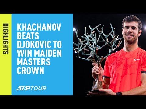 Highlights: Khachanov Stuns Djokovic For Maiden Masters 1000 Crown In Paris 2018