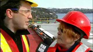 RMR: Rick in Bull's Arm, NL. Oil Rig