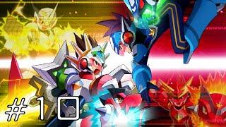 Mega Man Star Force 2 [Co-Op] - Part 10: WHERE ARE MY EYEZ!?!?