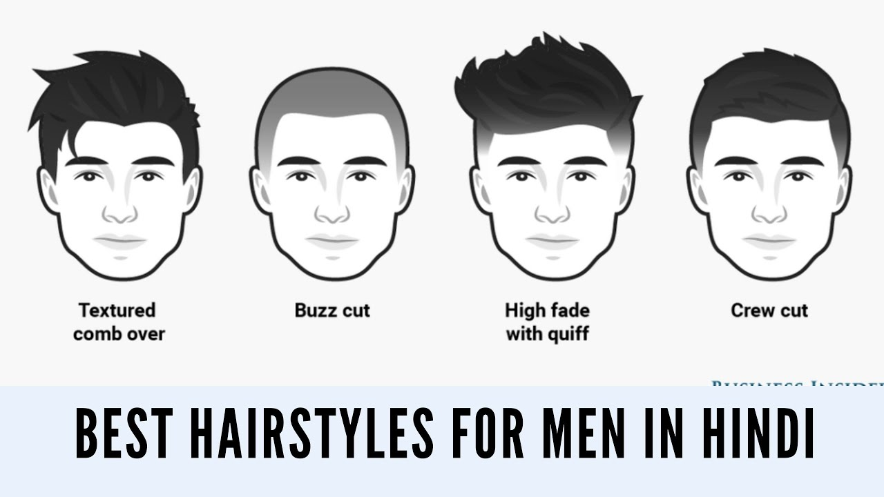 best hairstyle for men in hindi| according to face shape