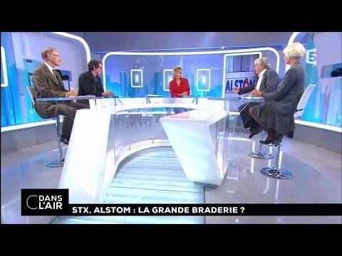 STX, Alstom : la grande braderie ? #cdanslair 28.09.2017