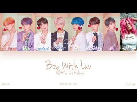 [HAN|ROM|ENG] BTS (방탄소년단) - Boy With Luv (작은 것들을 위한 시) (Feat. Halsey) (Color Coded Lyrics)