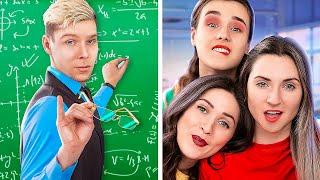 ¡Estoy Enamorada De Mi Maestro! ¡Maestro En Colegio De Chicas!