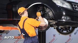 Montage MERCEDES-BENZ C-CLASS (W204) Koppelstange Stabilisator: kostenloses Video