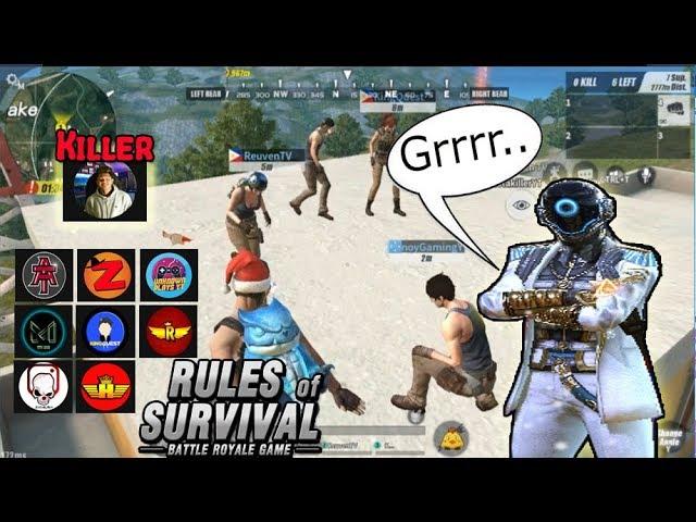 "PA CHRISTMAS PARTY NI ""Yalu_OK"" TAKBO TEAMPH!![FUNNY MOMENTS] (Rules of Survival: Battle Royale)"
