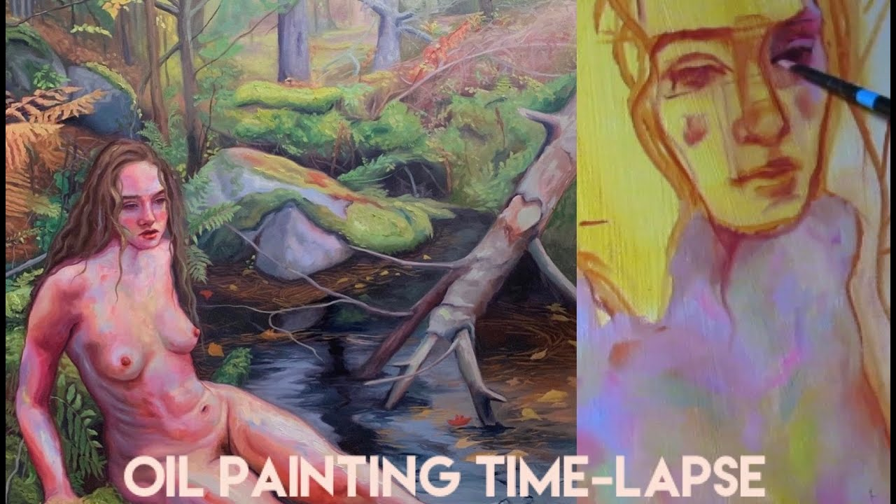 Oil Painting Time-lapse