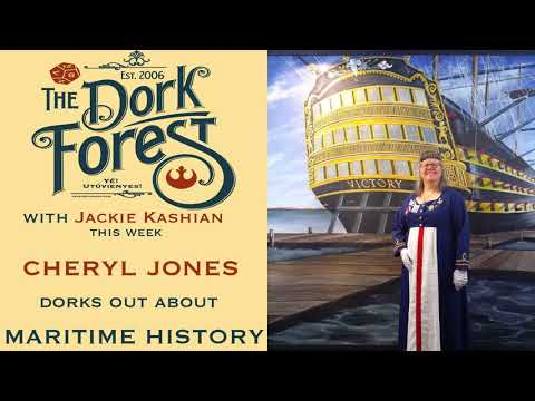 Maritime History. You heard me. W Cheryl Jones - Ep. 451