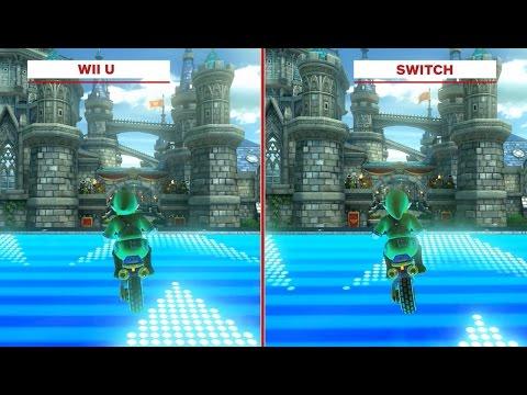 Mario Kart 8 Deluxe Graphics Comparison Wii U Vs Switch