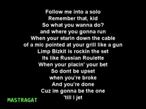 Limp Bizkit - Now I Know Why You Wanna Hate Me ( Take a look around )