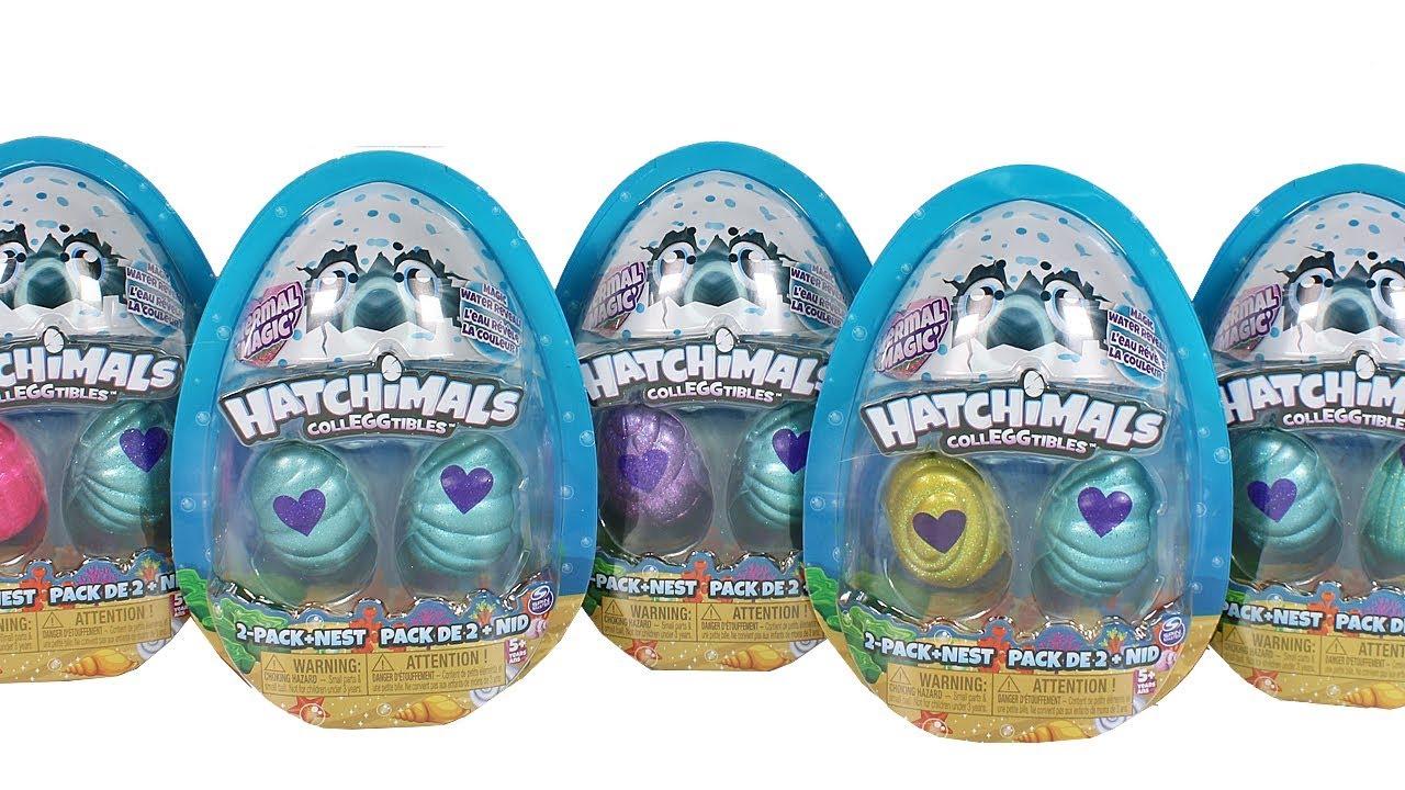 Hatchimals CollEGGtibles 2 Pack Plus Nest Season 5 Mermal Magic
