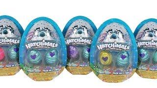 Hatchimals Colleggtibles Сезон 5 Mermal Магії 2 Шт + Гніздо Розпакування Іграшки Огляд