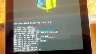 Nexus 7 Recovery