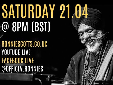 Ronnie Scott's Presents: Dr Lonnie Smith Trio Livestream