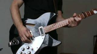 The Smiths - Reel Around The Fountain (COVER) on my Rickenbacker 330