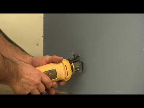 How To Use A Rotary Tool For Drywall