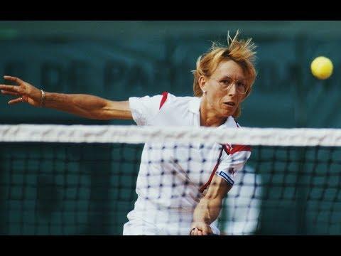 Tennis star Martina Navratilova talks about breast cancer and time