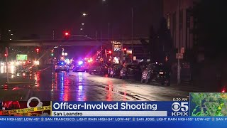Suspect Arrested After San Leandro Police Shooting; Shelter-In-Place Lifted
