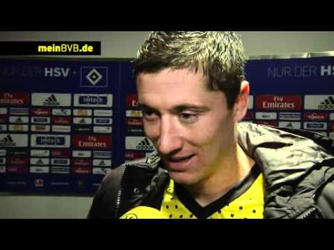 HSV - BVB: Interview mit Robert Lewandowski