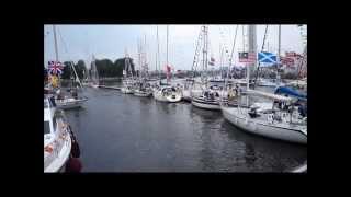 Commonwealth games flotilla River Clyde Glasgow 26/07/14