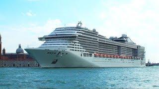 The 133500-ton, 3300-passenger MSC Fantasia debuted in December 200...