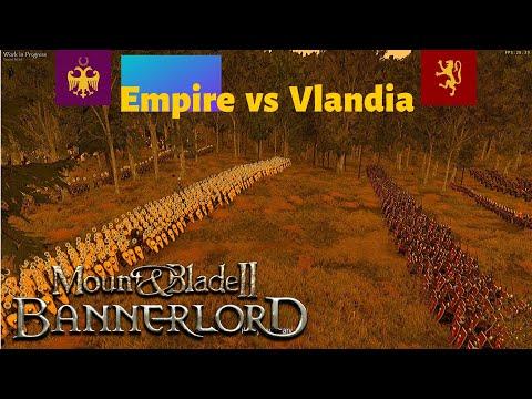 Mount and Blade II Bannerlord: Empire vs Vlandia |