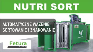 Fattening house - Three-way Fetura Selection Station. Wesstron