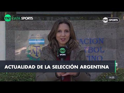 La Selección Argentina se entrena a la espera de Messi