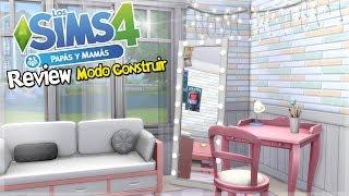 Los Sims 4 PAPÁS Y MAMÁS | REVIEW MODO CONSTRUIR - Parte 2/3