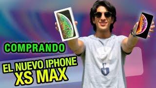 COMPRANDO el NUEVO iPhone XS MAX