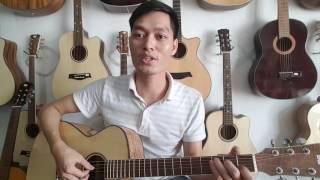 Đàn guitar giá rẻ | gỗ Sồi Pháp 2600k. Mã SP1