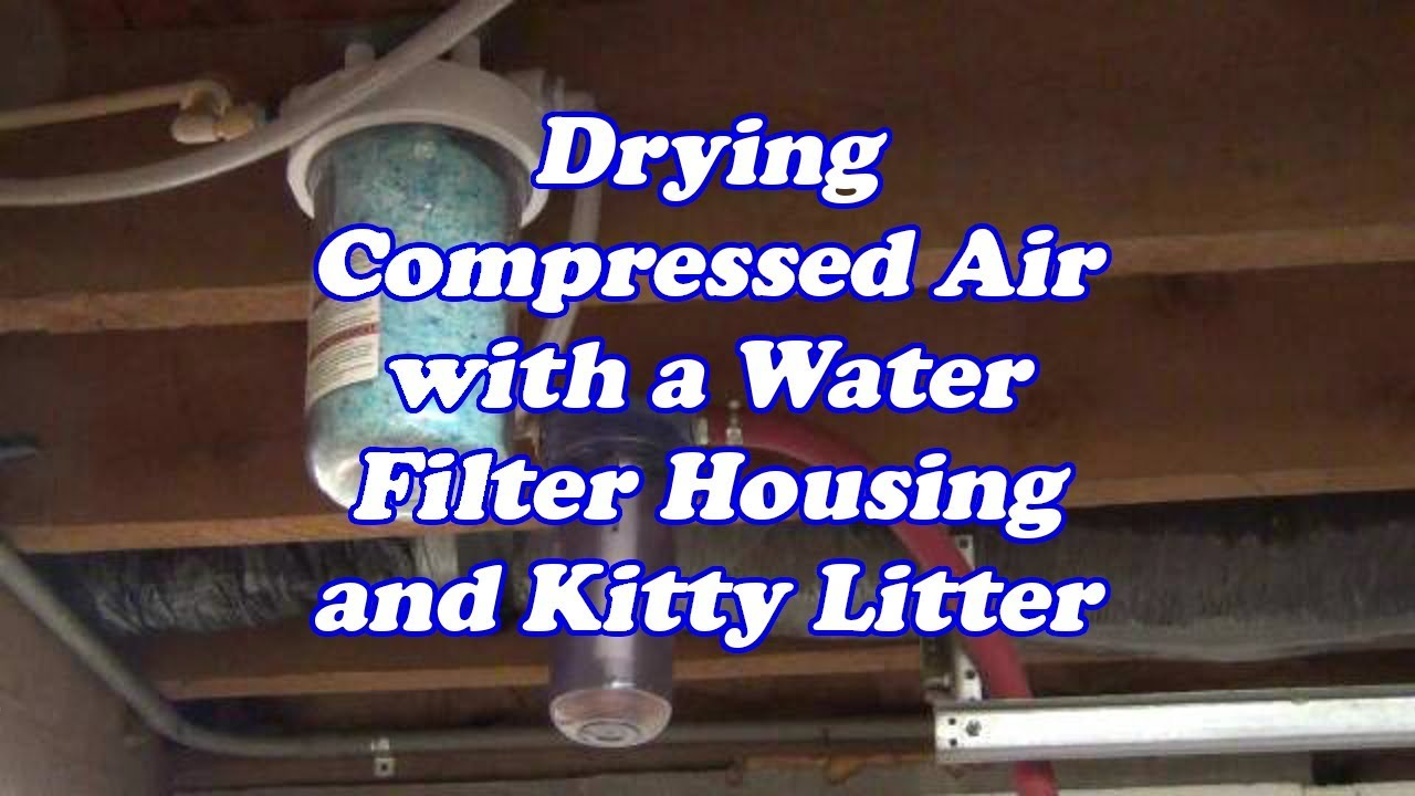 Ultra Cheap Dessicant Air Dryer - YouTube