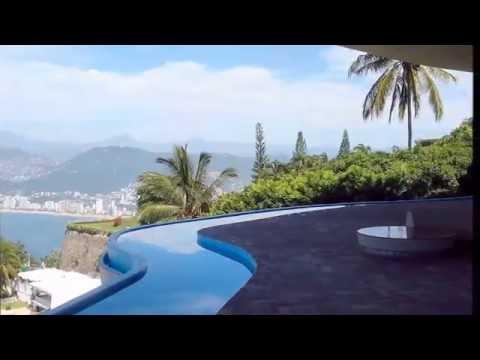 Casa Arango en Acapulco, un alarde arquitectónico.