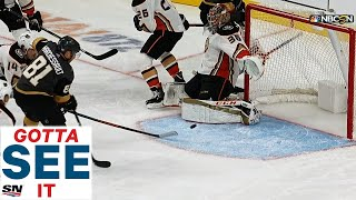 GOTTA SEE IT: Nick Holden Credited With Crazy Goal After Puck Goes Off End Boards