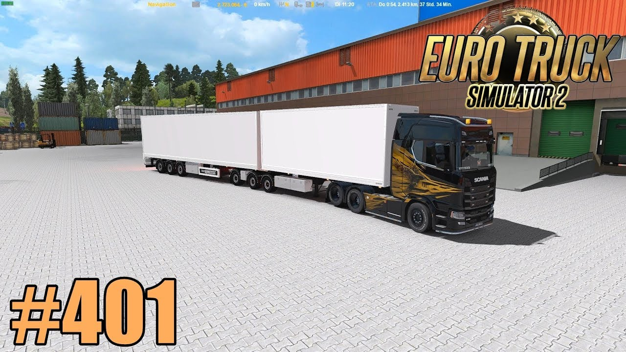 Euro Truck Simulator 2 401 Start Der 5ten Staffel Fullhd