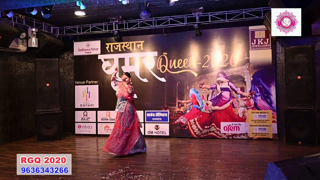 Rajasthan Ghoomar queen finalist 2020 Pallavi Nathawat