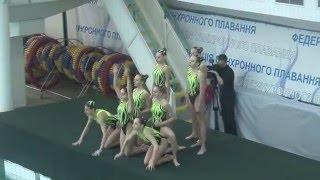 Чемпіонат України 2016. Групи. Довільна програма. м.Київ-2