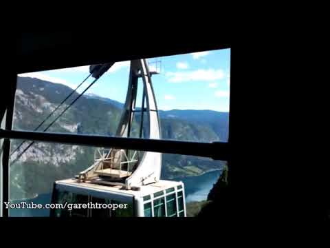 Vogel,Slovenia:Cable Car Ride (Cab View),Going Up