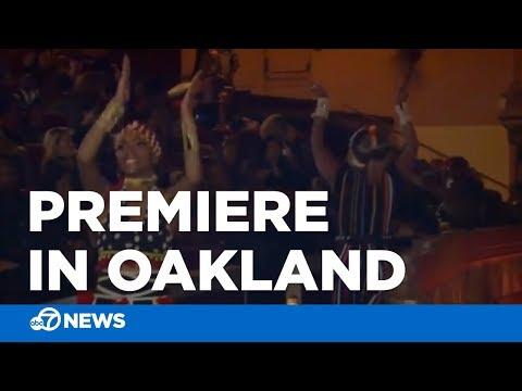 'Black Panther' premiere in Oakland delights, inspires fans