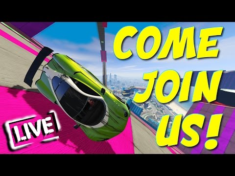 COME JOIN US! - THE STREAM HAS AWAKEN! - GTA Online LIVE