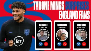 I Didn t Know You Were Calling Me Tyrone Mings Surprises England Fans England