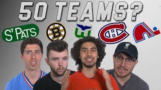 Can You Name 50 NHL Teams?