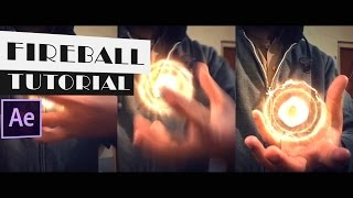 Energy/Fireball In Hand Tutorial | Saber Plug-In | After Effects Tutorials