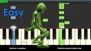 El Chombo Dame Tu Cosita Easy Piano Tutorial