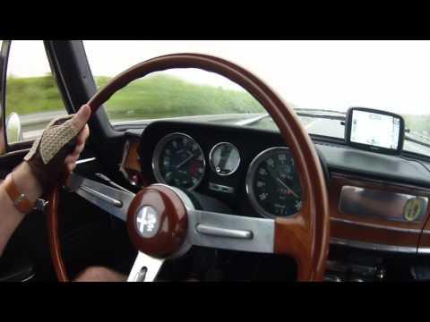 Alfa Romeo Giulia Super 1972 topspeed