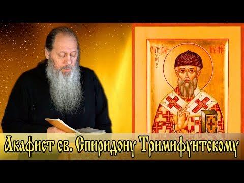 Акафист св. Спиридону Тримифунтскому (о.Владимир Головин)