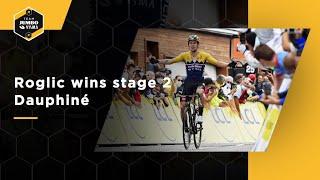 Roglic maakt zoontje dolgelukkig met etappezege Dauphiné | Team Jumbo-Visma