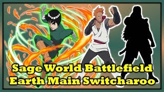 Naruto Online Sage World Earth Main Switcharoo & The Goat
