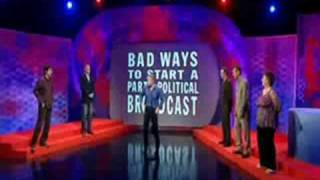 Mock the Week Bad Ways to start a political party broadcast